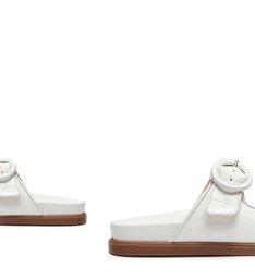 Slide Buckles Urban White
