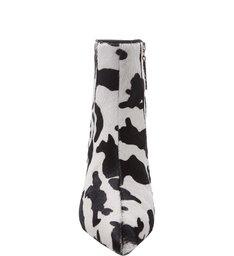 Bota Salto Cow Print P&B