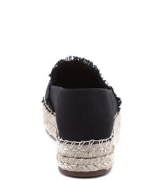 Espadrille Flatform Black