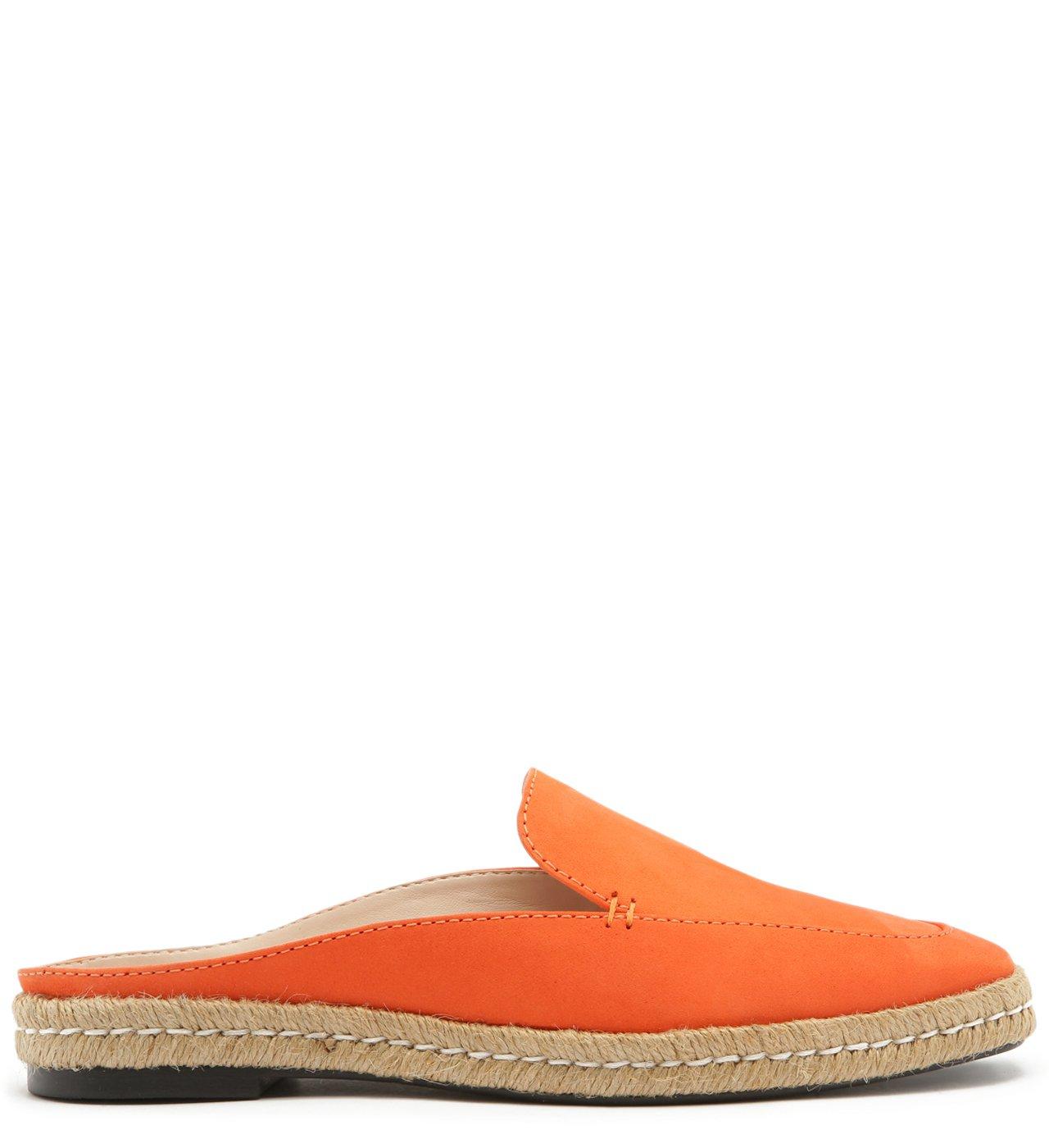 Flat Mule Espadrille Orange | Schutz