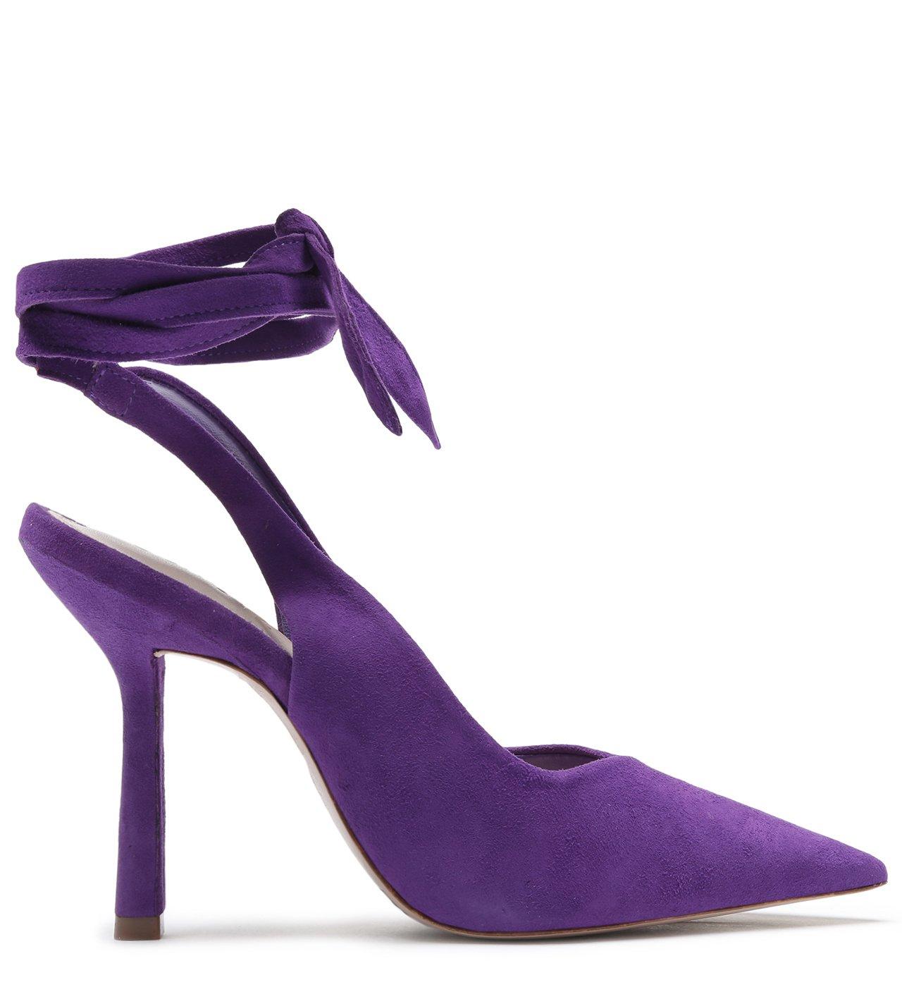 Scarpin Slingback Purple | Schutz