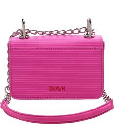 Mini Crossbody Live Love Neon Pink