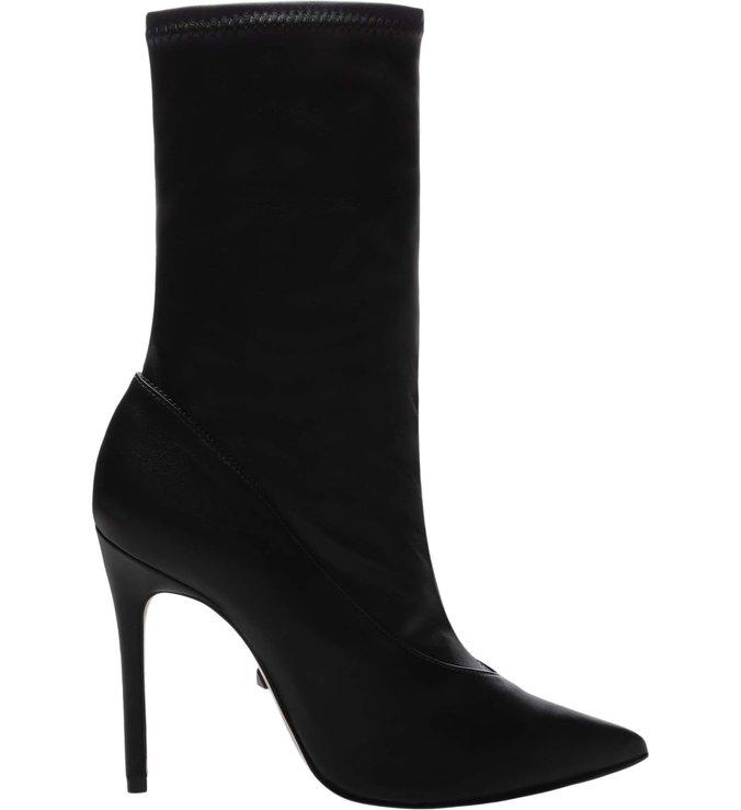 Sock Boot Salto Verniz Black | Schutz