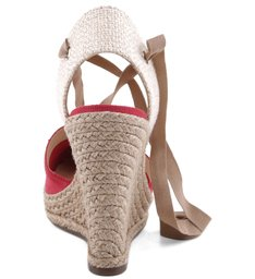 Espadrille Anabela Red