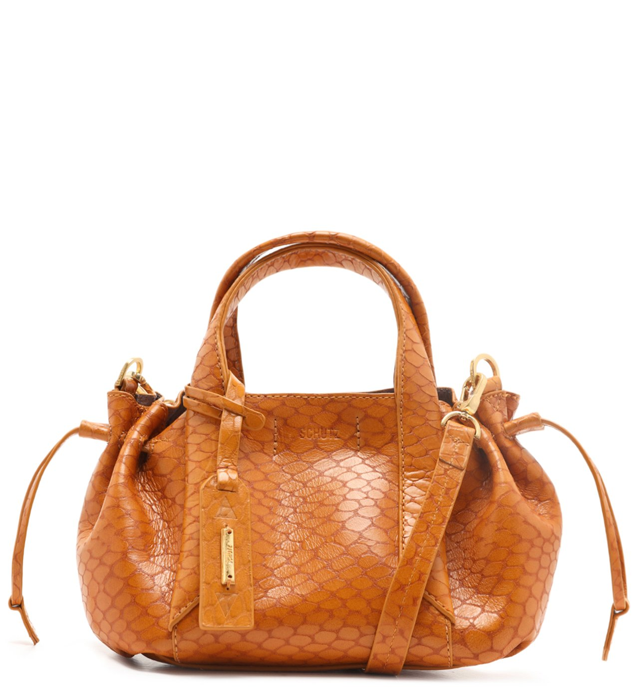 Tote Bag Archie Snake Yellow Gold | Schutz