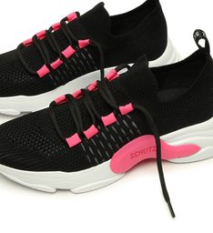 Tênis Rush Black/Pink