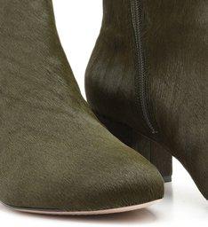 Bota Block Heel Soft Green
