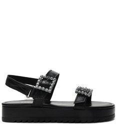 Flatform Glam Black
