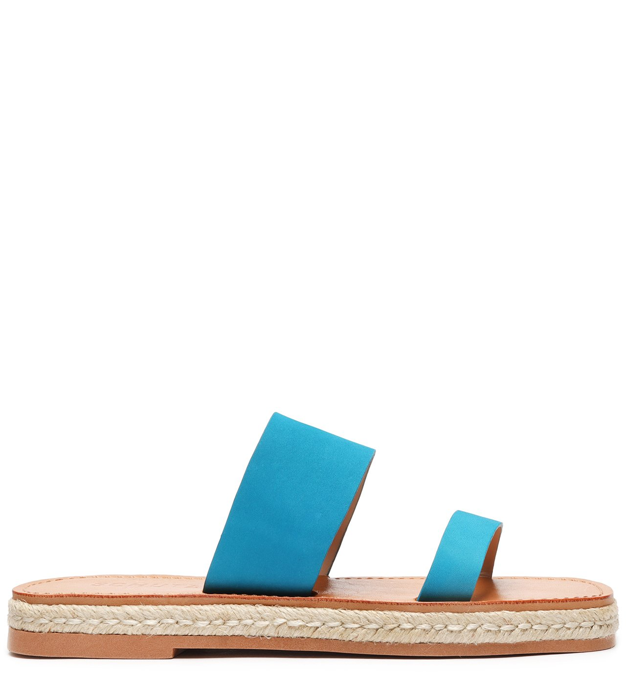 Flat Slide Double Strap Acqua | Schutz