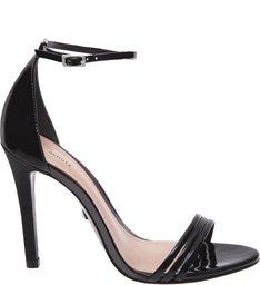 Sandália Maxi Lace Verniz Black