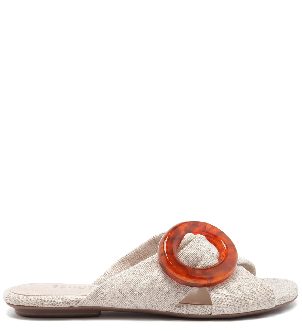 Flat Slide Buckle Natural | Schutz