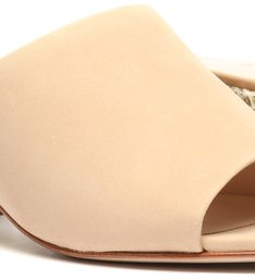 Sandália Mule Verniz Honey Beige