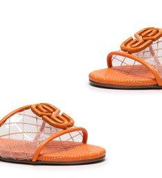 Flat Minimal Modern Vinil Tangerine