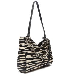Bolsa Tiracolo Pequena Baguette Luma Zebra