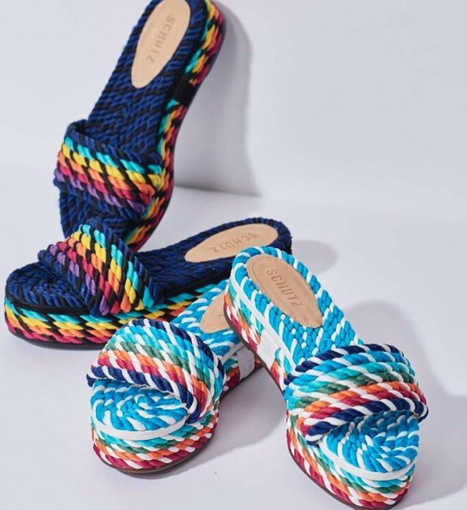 Slide Flatform Corda Color Twist