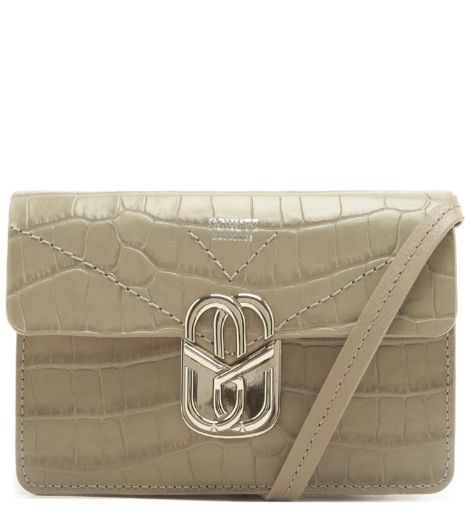 Crossbody Pochete Penelope Croco Neutral | Schutz