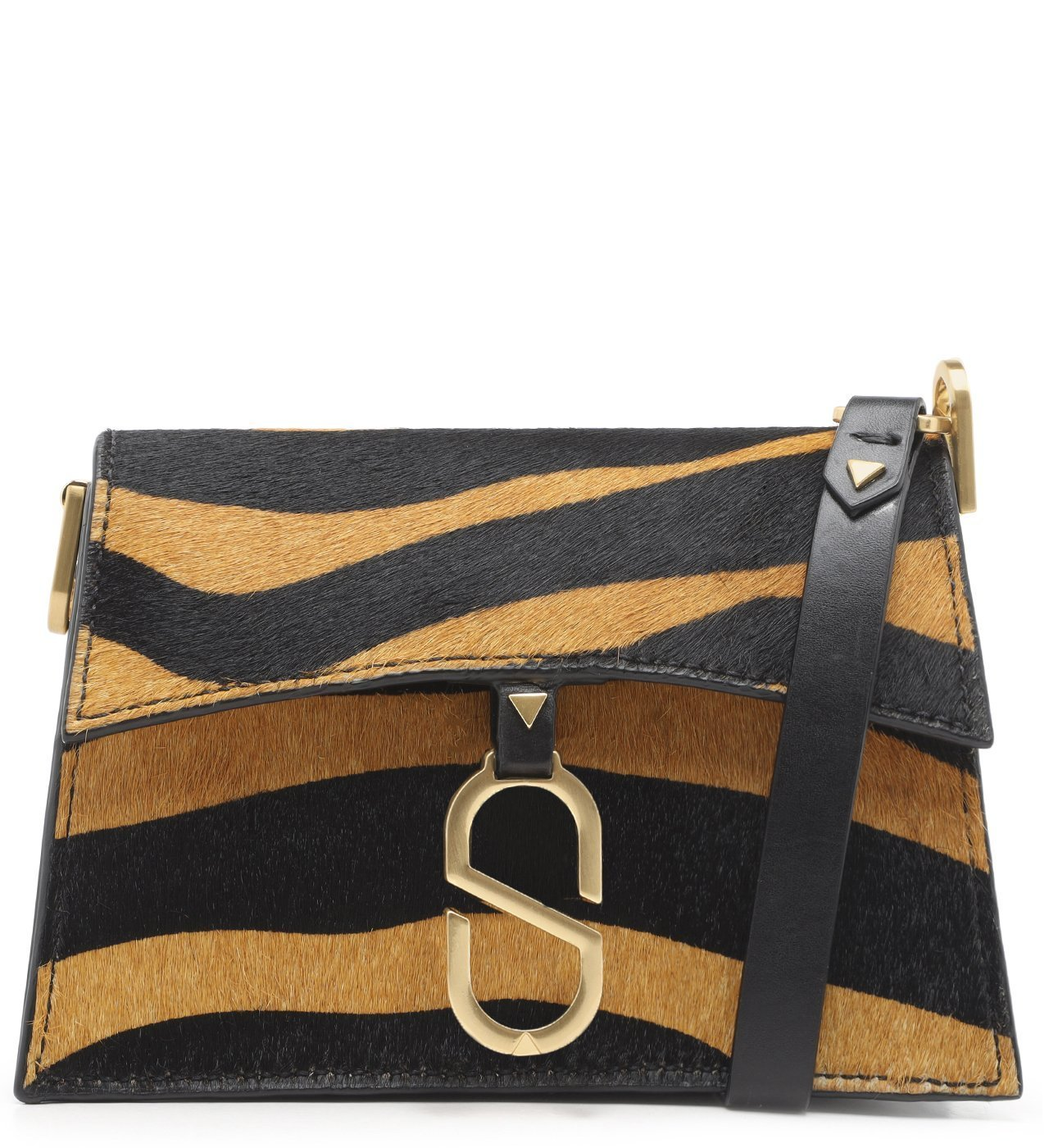 "Crossbody ""A To Z"" Zebra Soft 
