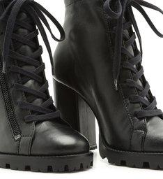 Combat Boot Salto Black