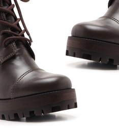 Combat Boot Salto Coffee