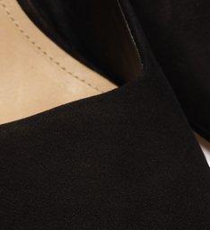 Sapato Scarpin Salto Médio Nobuck Preto
