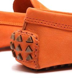 Sapato Mocassim Triangle Laranja