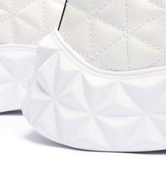 Tênis Couro Triangle Branco