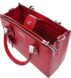 Mini Tote Lorena Bright Red