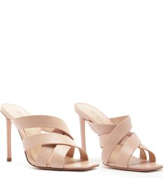 Mule High Multi Strap Rose