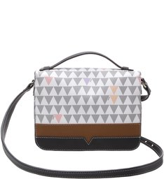 Crossbody Triangle Shutz Pearl