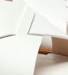 Sandália Flatform Cortiça Minimal White