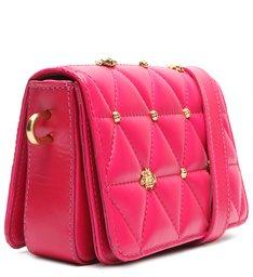 Bolsa Tiracolo Pequena Aria Matelassê Pink