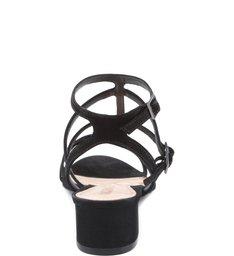 Sandália Cage Salto Bloco Black