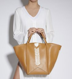 SHOPPING BAG MIA TRESSÊ HONEY