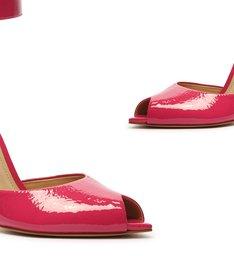 Sapato Scarpin Salto Alto Verniz Vermelho