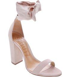 Sandália Block Heel Lace Up Bellini
