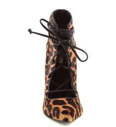 Ankle Boot Amarração Onça