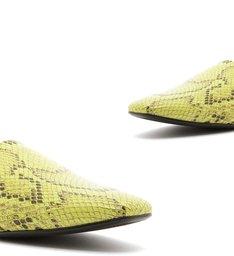 Loafer Python Neon