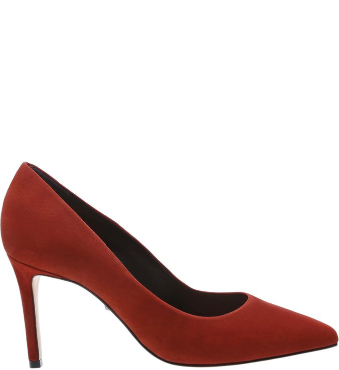 Scarpin Classic Nobuck Red | Schutz
