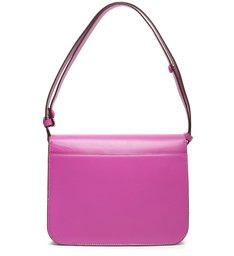 Bolsa Tiracolo Pequena Couro Marge Pink