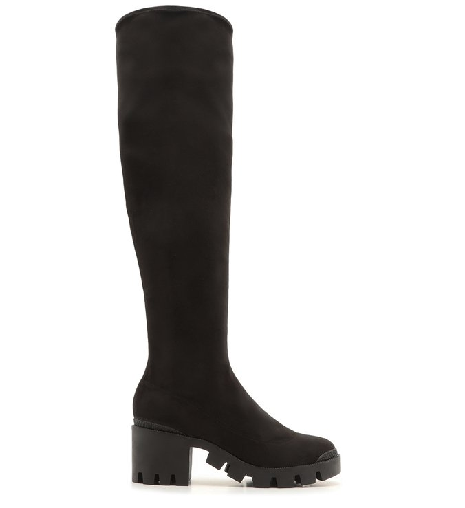 Bota Over The Knee Tratorada Black | Schutz