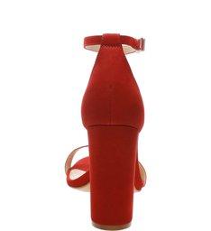 Sandália Gisele Block Heel Tango Red