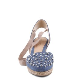 Espadrille Denim Cristaisblue