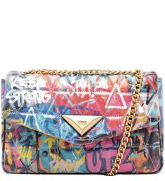 Shoulder Bag Matelassê Street Art
