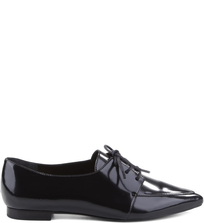 Oxford Pointed Toe Black