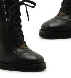 Combat Boot Salto Knit Green