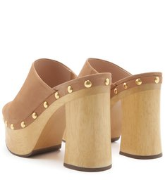 SANDÁLIA CLOG BOLD HONEY