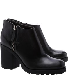 Short Ankle Boot Black