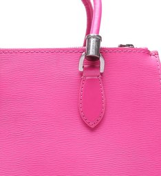 Tote Lorena Strap Neon Pink