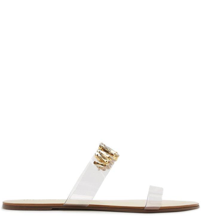 Slide Vinil Glam Stones Gold | Schutz