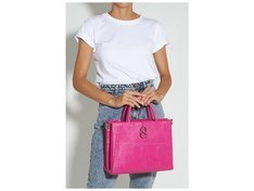 Tote A to Z Lezard Pink